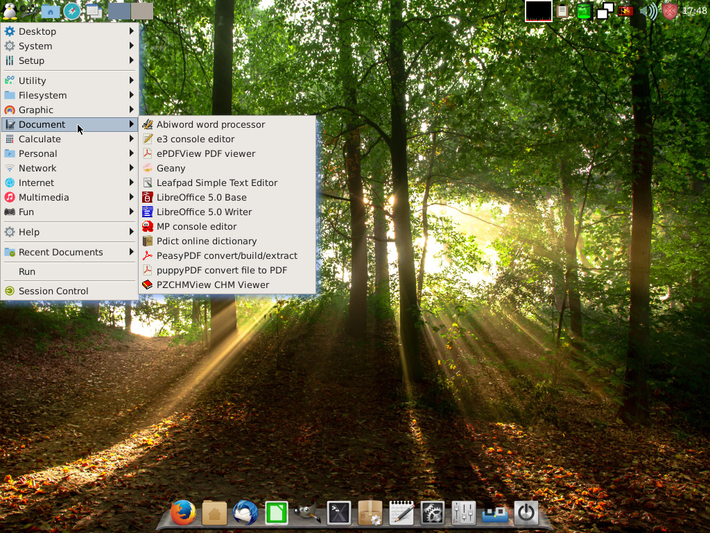 Simplicity Linux 16.04 preview