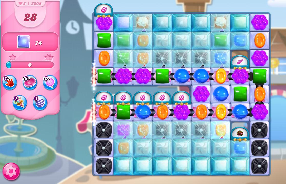 Candy Crush Saga level 7008