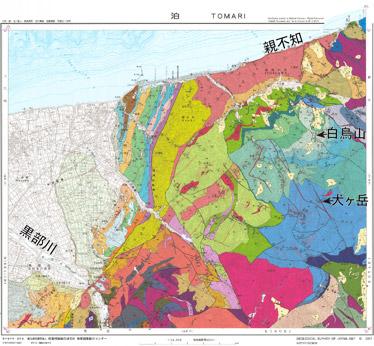 北アルプスの地質を解明