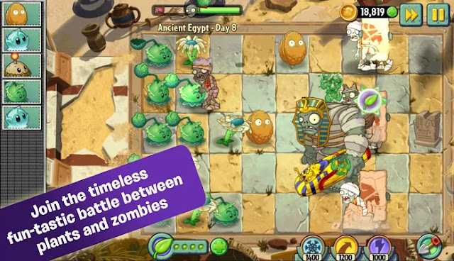 Plants vs Zombies 2 MOD APK [Free Shopping] v4.5.2 +DATA