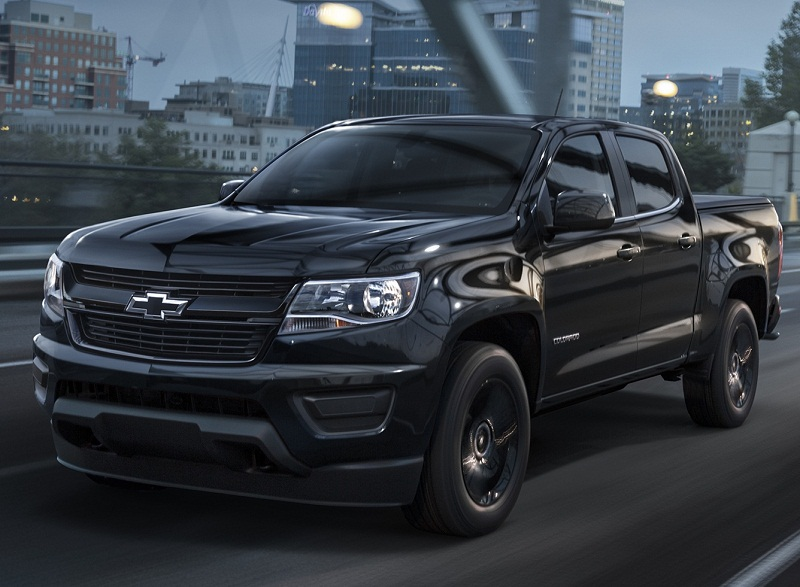 2016 chevrolet colorado s midnight edition and z71 trail boss car reviews new car pictures. Black Bedroom Furniture Sets. Home Design Ideas
