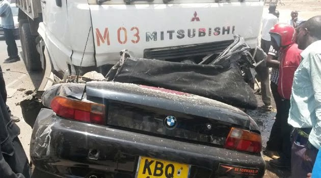 nana gichuru car accident