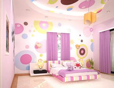 دهان غرف أطفال 2020 باللون الموف
