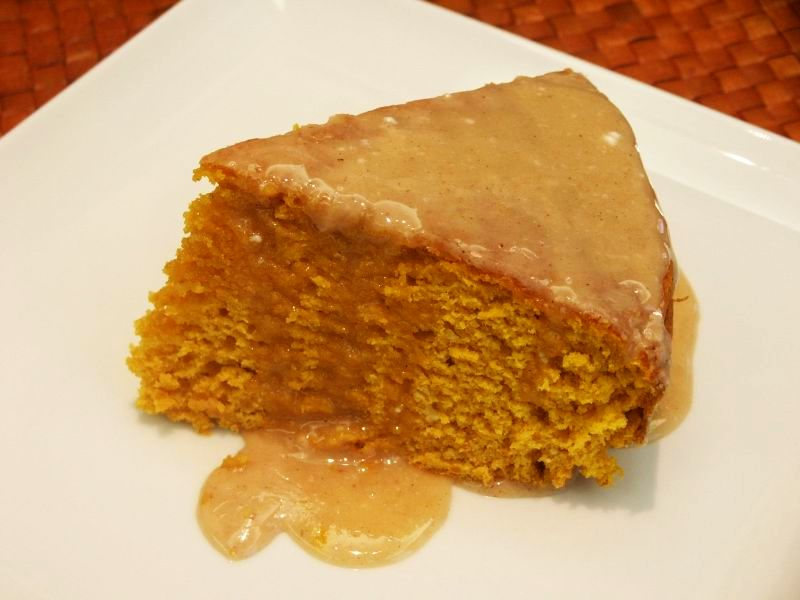 Moveable Feasts Two Ingredient Pumpkin Cake With Apple