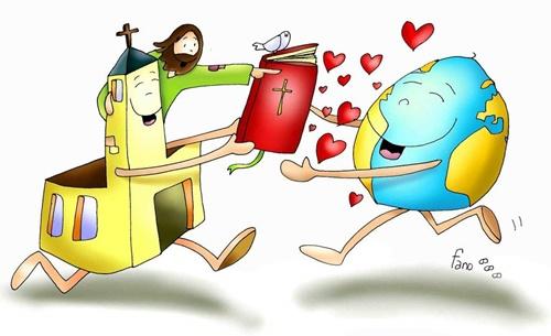 Id Por Todo El Mundo Y Predicad El Evangelio
