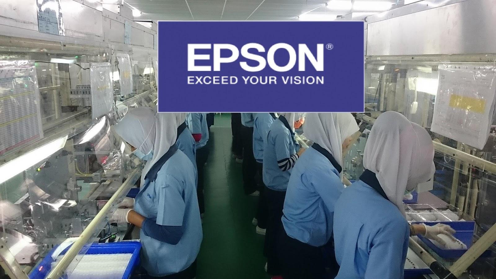 Loker Paling Terbaru Bulan Oktober 2018, Lowongan Kerja PT EPSON SMA SMK Sederajad