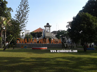 Sisi lain Alun-Alun Kota Malang