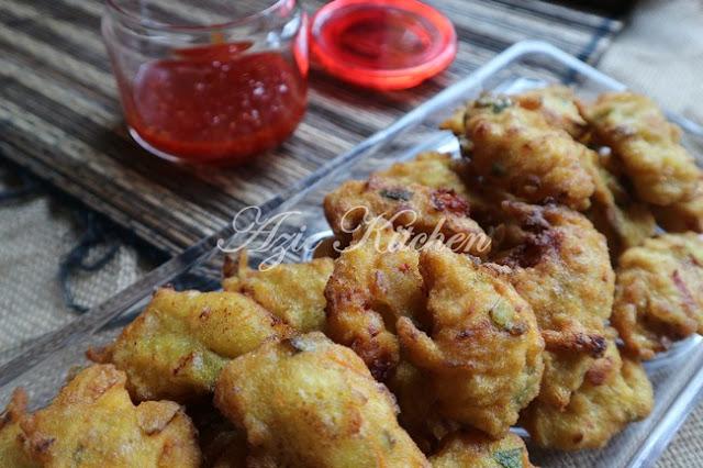 Cucur Udang Sedap Azie Kitchen