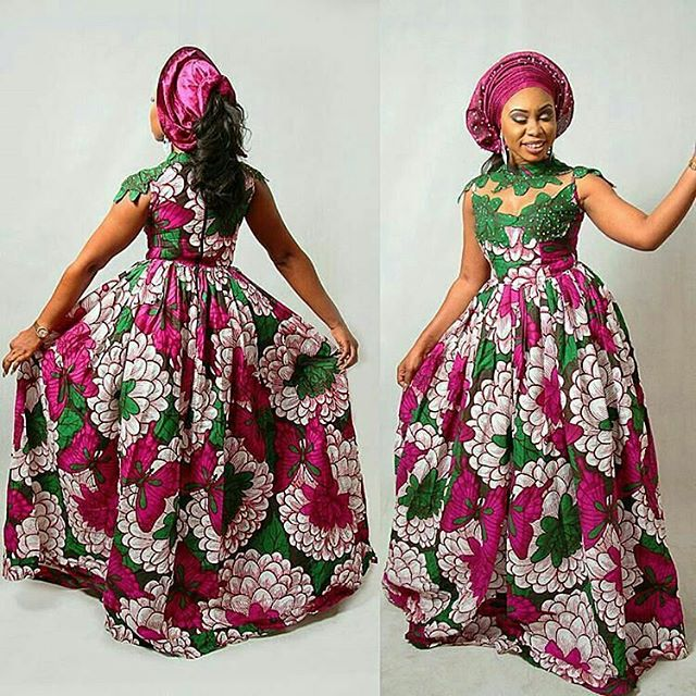 Latest Ankara Maxi Gowns 2017 for Lovely Ladies - Zaineey\'s Blog