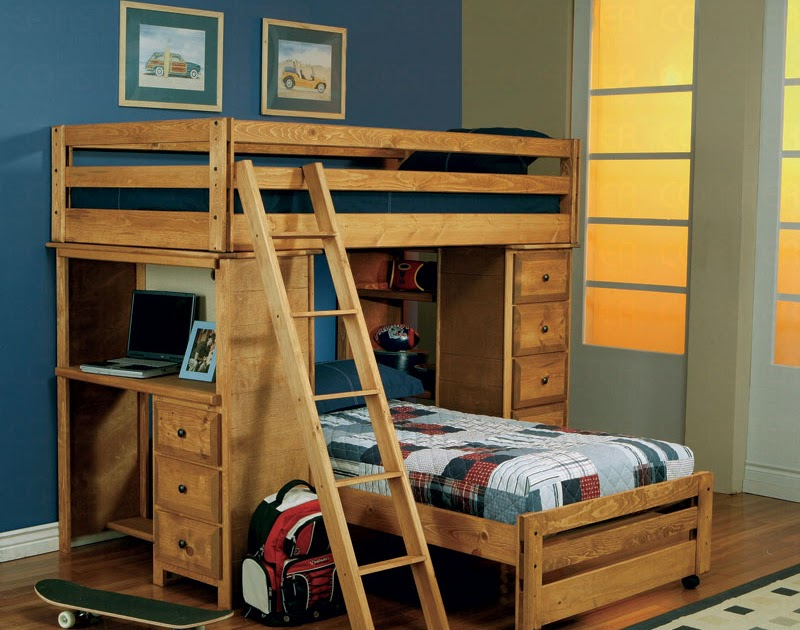 Twin Over Twin Loft Bed Cr 460141 Best Kids Furniture