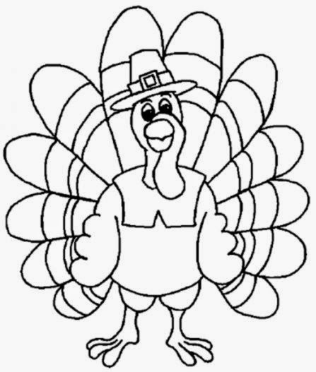 Free Thanksgiving Coloring Pages For Kids Printable