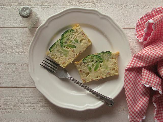 recette bio avec du brocoli pour une entrée