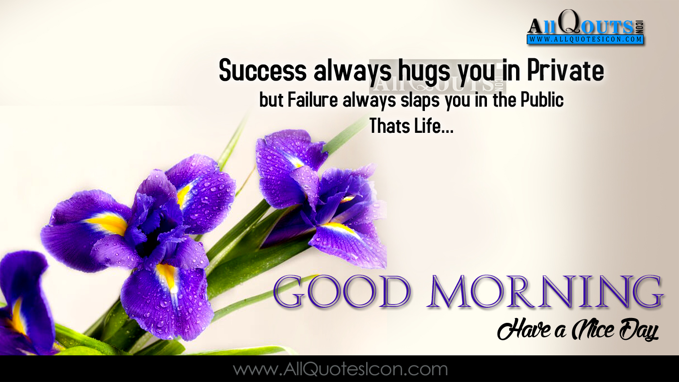 Good Morning Quotes Motivational In English : Motivational english quotes good morning messages
