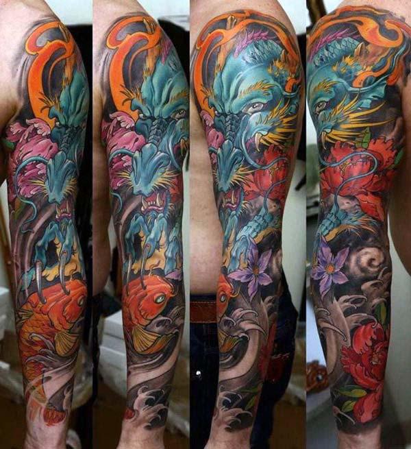 Japanese Dragon Tattoos For Men Tattoo Designs 2019