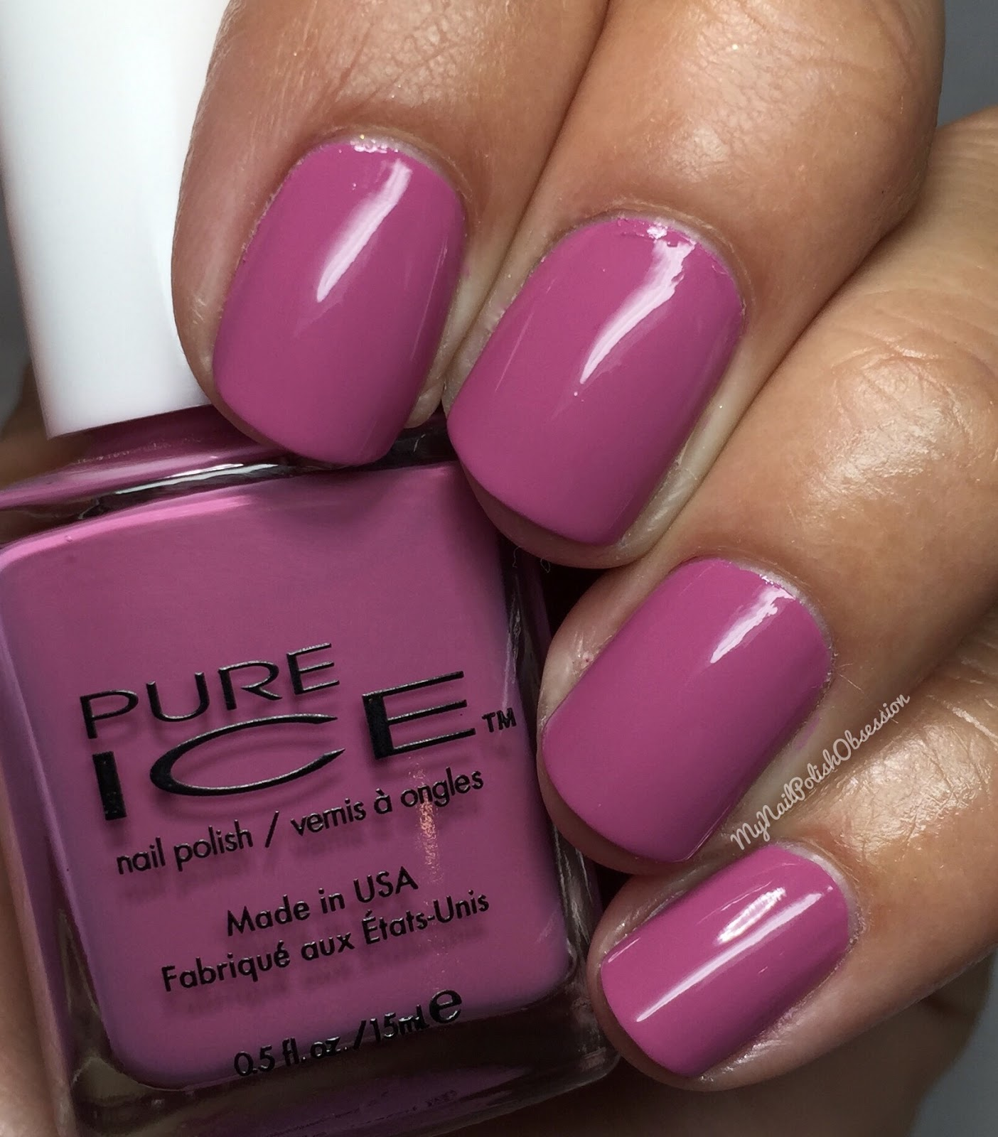 My Nail Polish Obsession: Pure Ice; All Class Color Collection