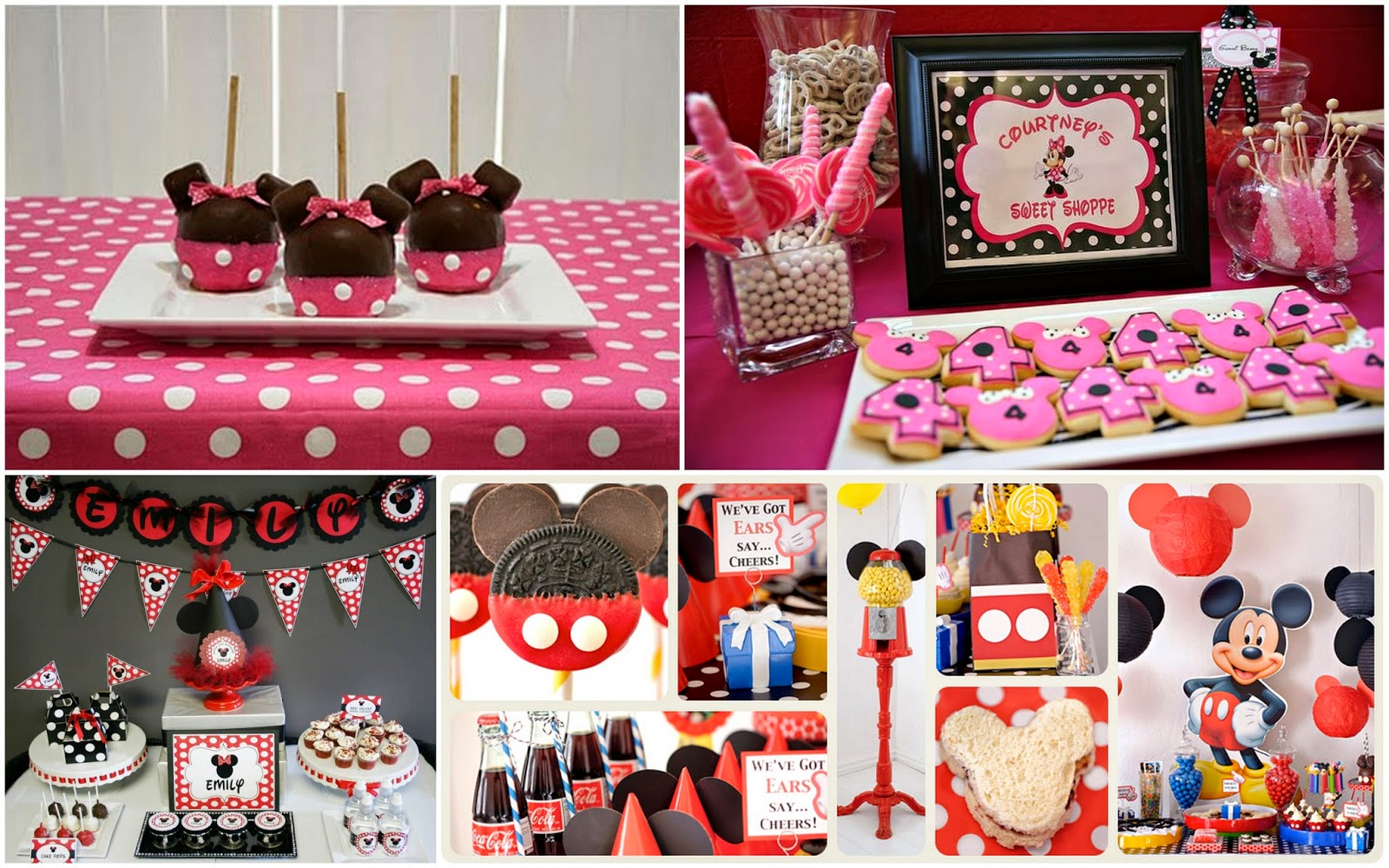 Mickey Mouse Oreo Cake Pops