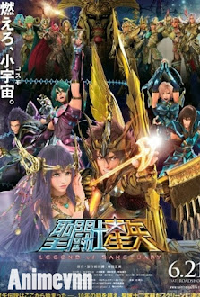 Áo Giáp Vàng Saint Seiya: Movie 2 - Saint Seiya: The Heated War of the Gods 2012 Poster