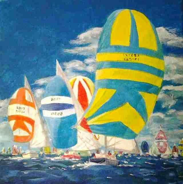 Британская художница-любитель. Marjan van der Kooi