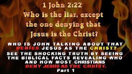 1 John 2:22 Who is the liar, except the one denying that Jesus is the Christ?
