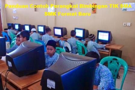 Panduan Contoh Perangkat Bimbingan TIK SMA SMK Format Baru