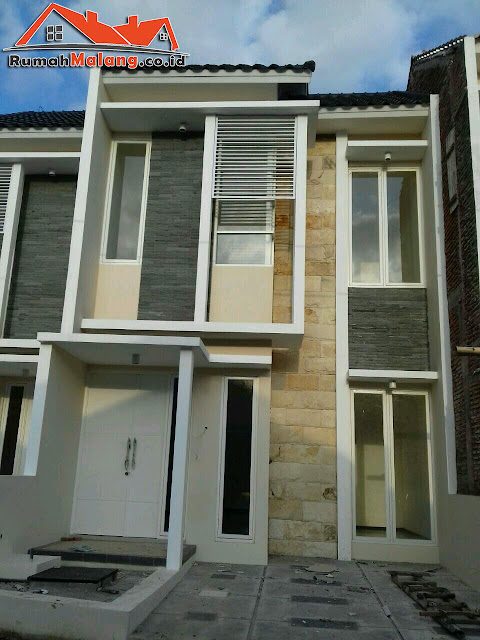 Rumah modern minimalis murah Kota Malang