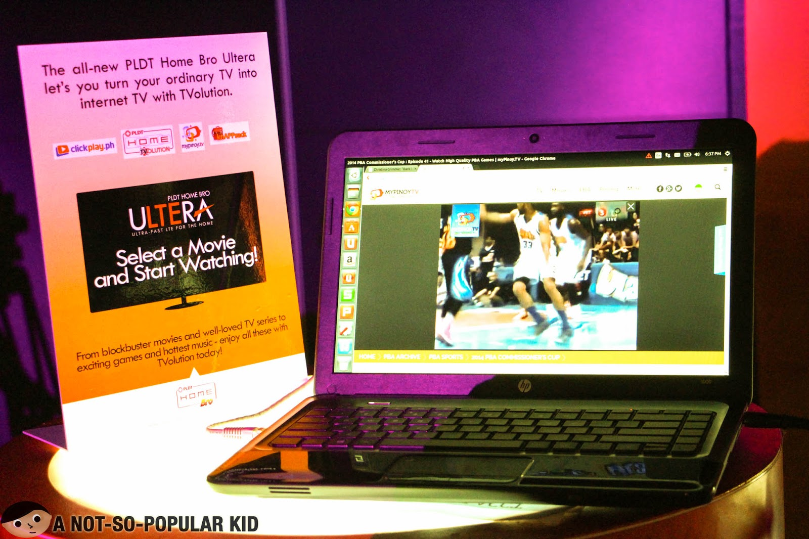 PLDT Home Bro Ultera makes streaming ultra fast as well