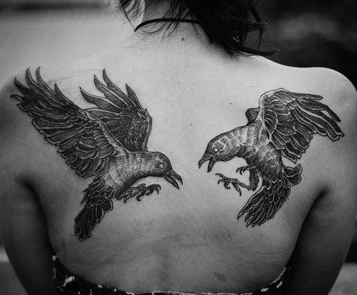 Inovador tatuagens para menina