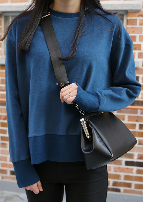 Wide Banded Sweatshirt