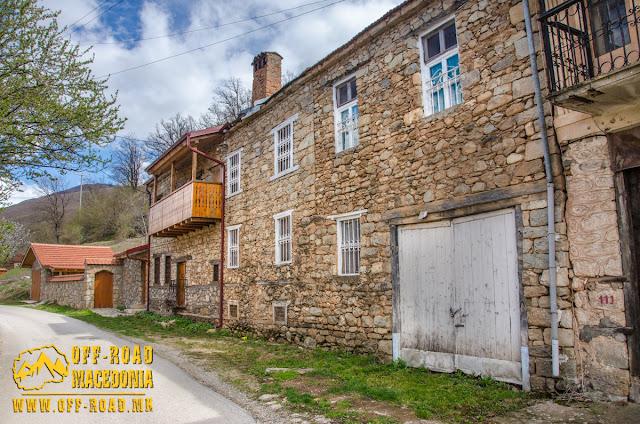 Traditional architecture - Ljubojno village - Prespa Region
