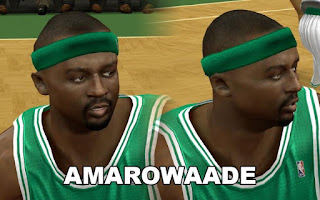 NBA 2K13 Boston Celtics Cyber Face Pack Jason Terry