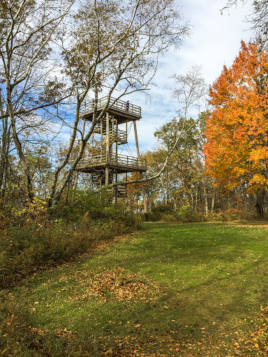 The West Observation Tower at Blue Mound State Park