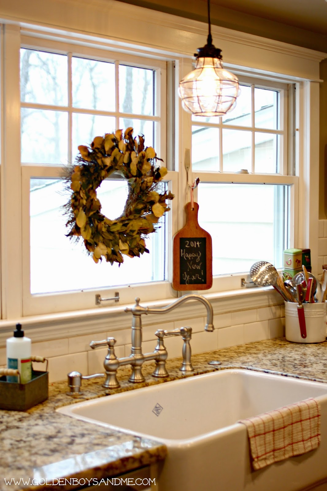kitchen sink pendant light fixtures lowes golden boys and me winter in our