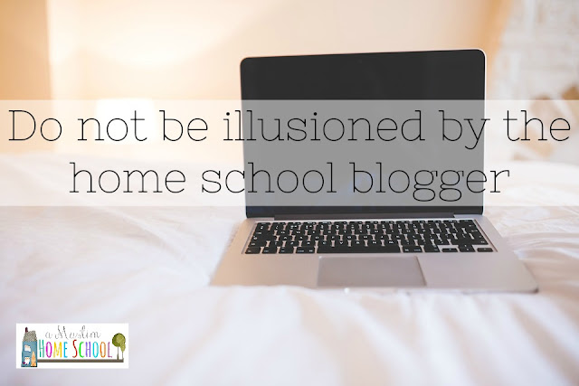 Do not be illusioned by the home school blogger ...we don't know what we are doing either