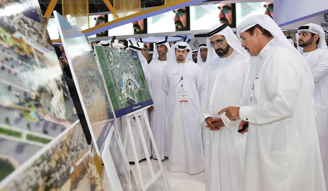 H.H. Sheikh Mohammed bin Rashid Al Maktoum visits FCW stand at Cityscape Global 2016