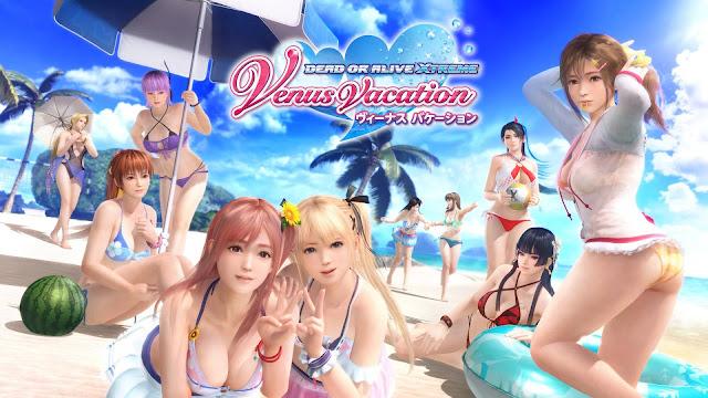 Game Dead or Alive Xtreme Venus Vacation Rilis dalam Bahasa Inggris untuk PC via Steam di Asia Tenggara