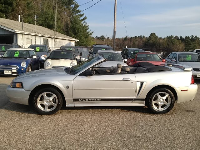 Earthy Car Of The Week 2004 Silver Ford Mustang Convertible