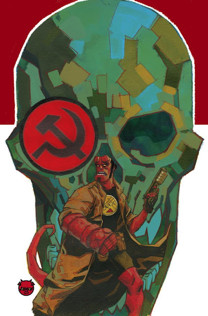 Dark Horse Hellboy and the B.P.R.D. 1956 1 Cover by Dave Johnson