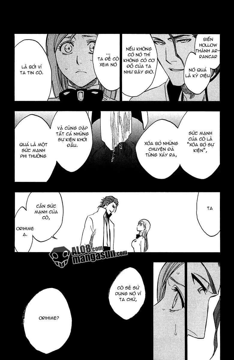 Bleach chapter 249 trang 17