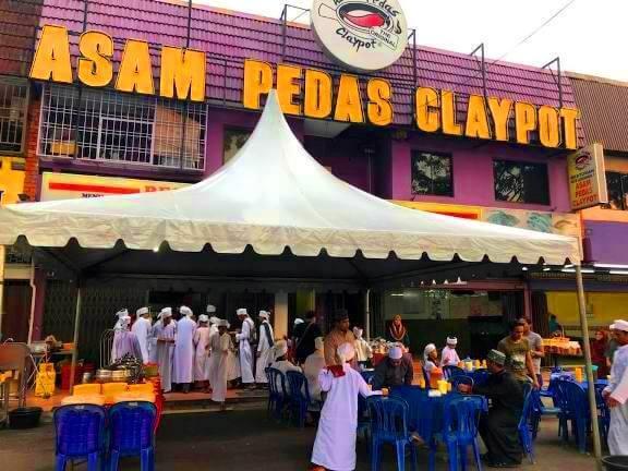 Asam Pedas Claypot Restoran Kota Laksamana