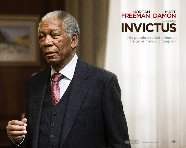 Morgan Freeman dans Invictus
