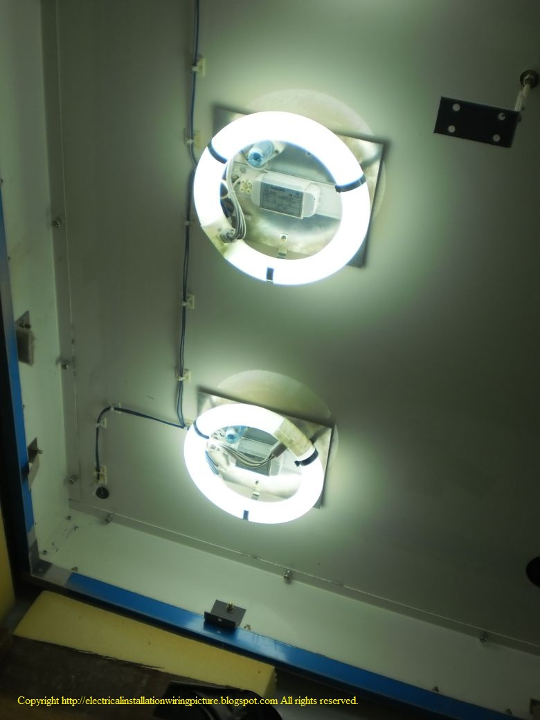 Fluorescent Light Wiring Diagram Wedocable