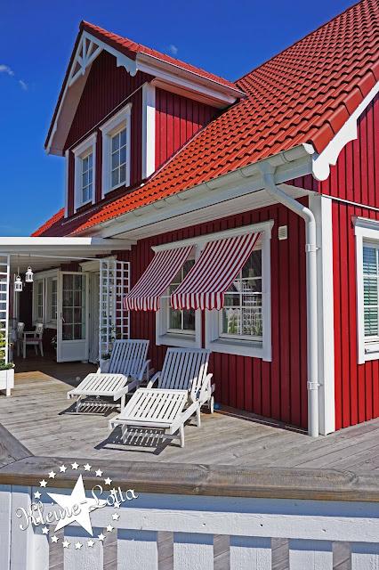 Kleine Lotta Unser Schwedenhaus Fenstermarkisen