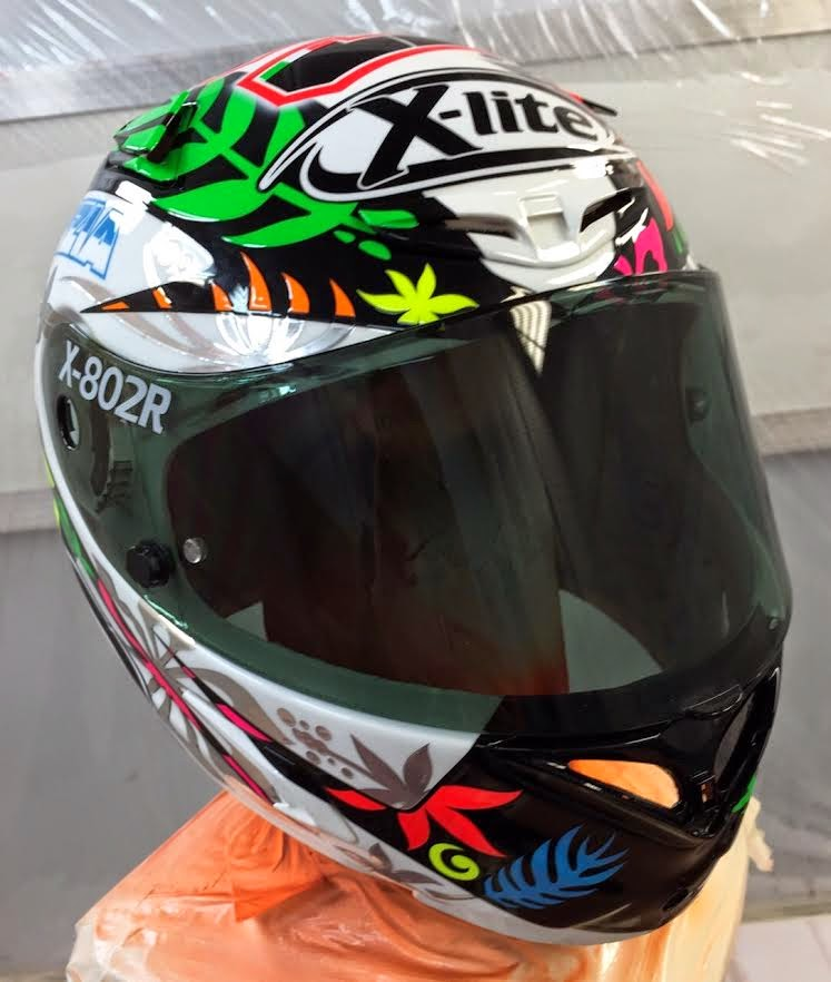 racing helmets garage x lite x 802r d petrucci 2015 by. Black Bedroom Furniture Sets. Home Design Ideas