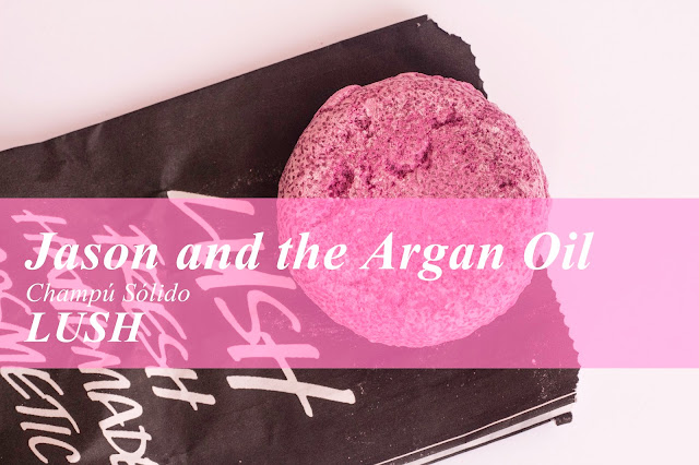 Jason and the Argan Oil, otro champú sólido de Lush.
