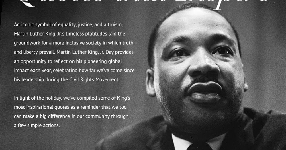 what are some leadership qualities of martin luther king