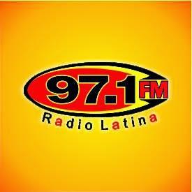 Logo Radio Latina 97.1 FM Paraguay