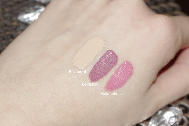 Kat Von D Everlasting Liquid Lipstick Melancholia Lovesick Lock it Concealer Creme L5 Neutral