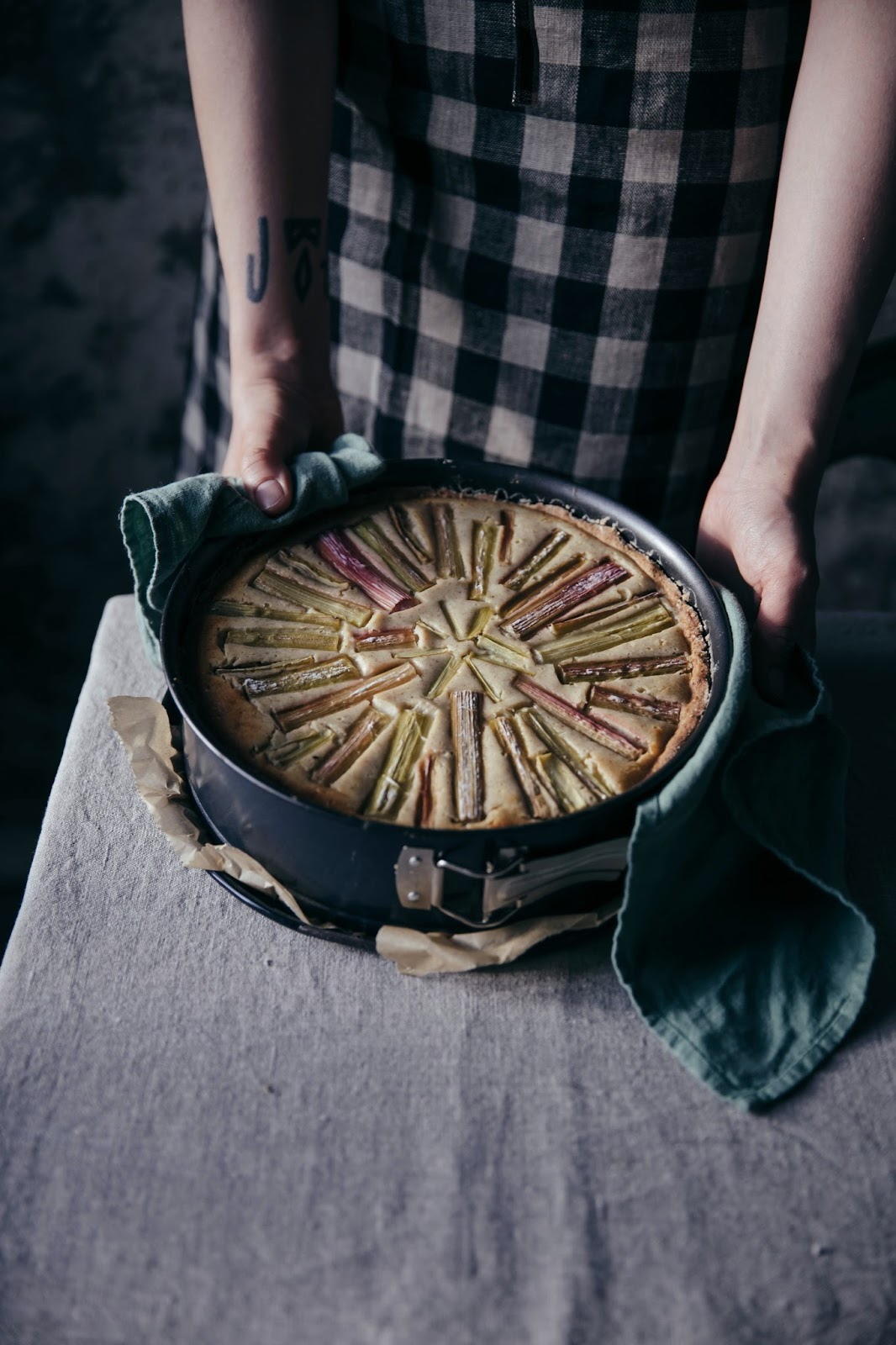 Gluten Free Rhubarb Goat Chesse Cake Our Food Stories Bloglovin