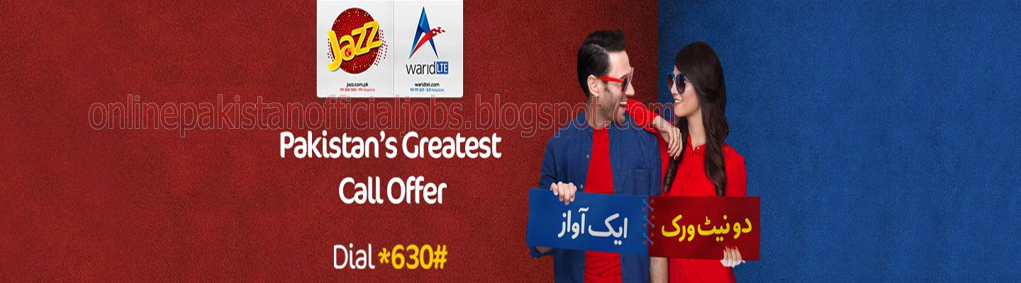 Jazz Warid Introduces Prepaid On-Net Offer