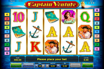 play captain venture slot free
